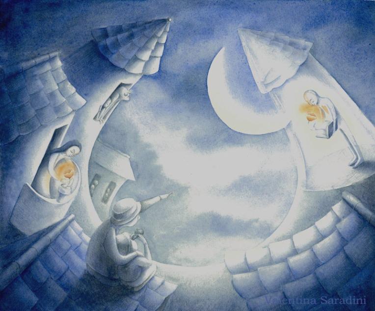 Valentina Saradini, illustrazione per Giacomo di cristallo di Gianni Rodari
